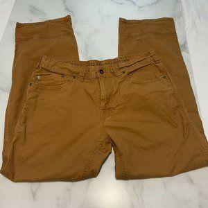 Men's prAna Pants 36x32 Carpenter Breathe Jeans